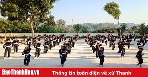 Bước phát triển của môn võ Bình Định Gia ở xứ Thanh