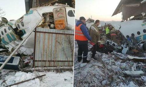 Máy bay chở 100 người rơi ở Kazakhstan