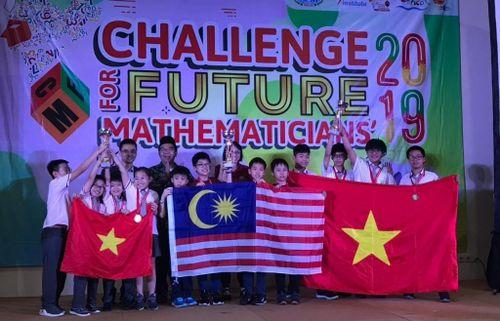 Học sinh Việt Nam giành giải cao tại Kỳ thi 'Thử thách nhà Toán học tương lai' năm 2019