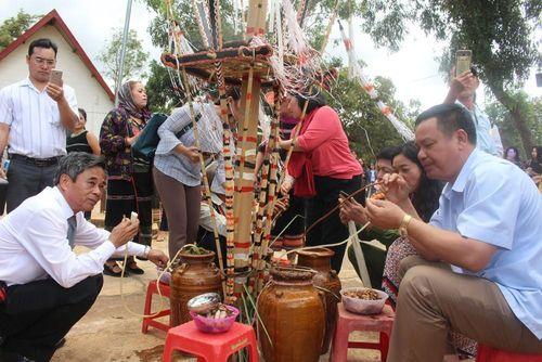 Hội mừng lúa mới - mừng năm mới ở Kon H'ring, Đăk Lăk