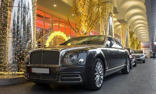 Dàn xế tiền tỷ tại đám cưới của chủ garage độ xe Sài Gòn