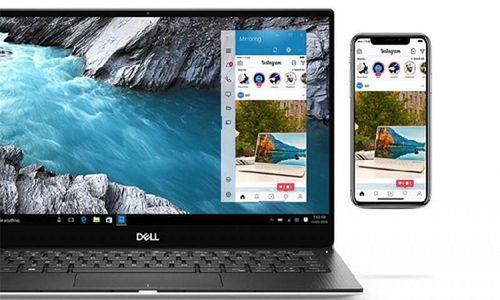 Người dùng có thể tương tác Laptop Dell với ứng dụng iPhone