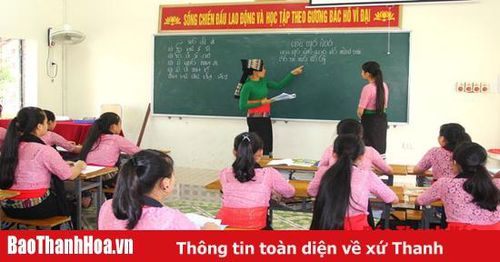 Phong trào thi đua 'Dạy tốt, học tốt' ở các trường dân tộc nội trú