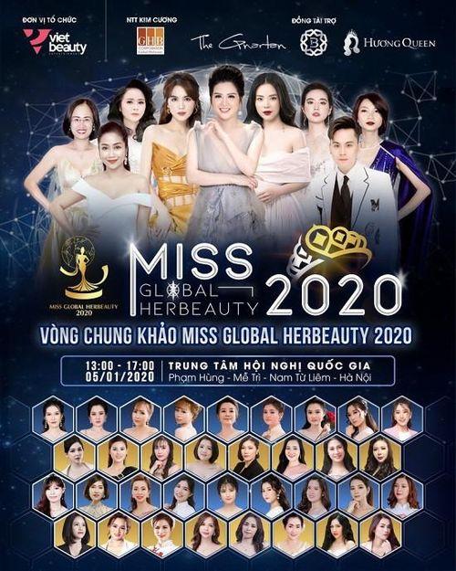 Đề xuất phạt BTC 'Miss Global Her Beauty' 49 triệu đồng vì tổ chức thi hoa hậu chui