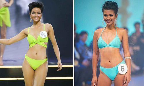 Lộ diện bản sao nóng bỏng của H'Hen Niê, là ứng viên Miss Universe Philippines