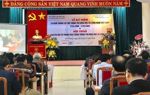 Kỷ niệm 20 năm thành lập Hội Thông tin Khoa học và Công nghệ Việt Nam