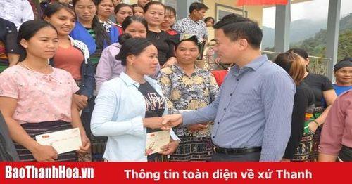 Phó Bí thư Thường trực Tỉnh ủy Đỗ Trọng Hưng kiểm tra tình hình sản xuất và đời sống nhân dân huyện Quan Sơn