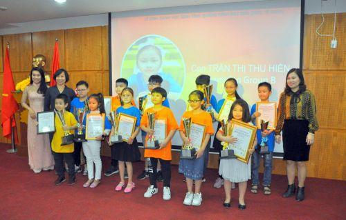 Tuyên dương, khen thưởng học sinh đạt giải Soroban quốc tế 2019