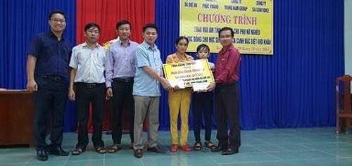 Phuc Khang Corporation mang 'tấm lòng vàng' đến với người dân, học sinh nghèo tại tỉnh Quảng Nam