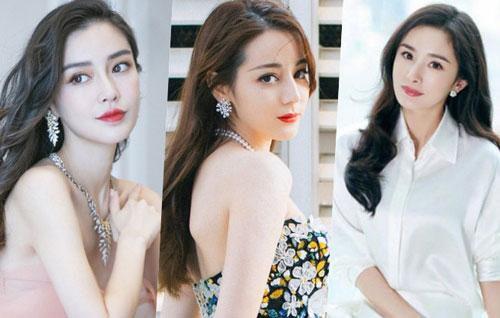Top mỹ nhân Cbiz được yêu thích nhất Thái Lan: Địch Lệ Nhiệt Ba và Dương Mịch đầu bảng, vị trí Angela Baby gây bất ngờ