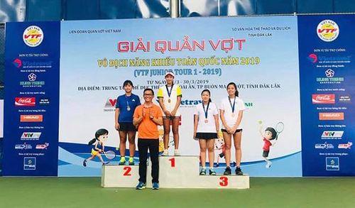 Trần Diễm Ngọc (Đồng Nai) được phong cấp kiện tướng môn quần vợt