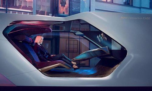 BMW i Interaction EASE concept phong cách 'phòng VIP di động'