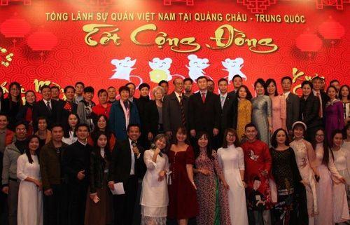 Tổng Lãnh sự quán Việt Nam tại Quảng Châu hân hoan đón Xuân Canh Tý 2020