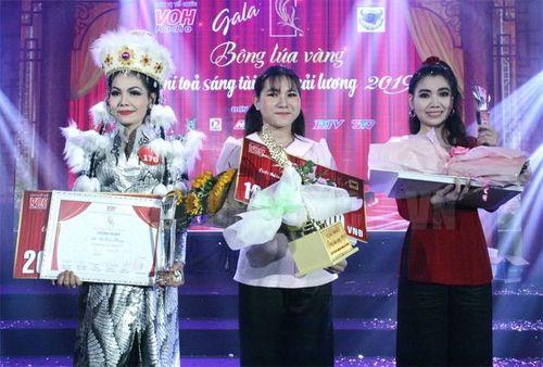 Nguyễn Hồng Bảo Ngọc - quán quân Bông lúa vàng 2019