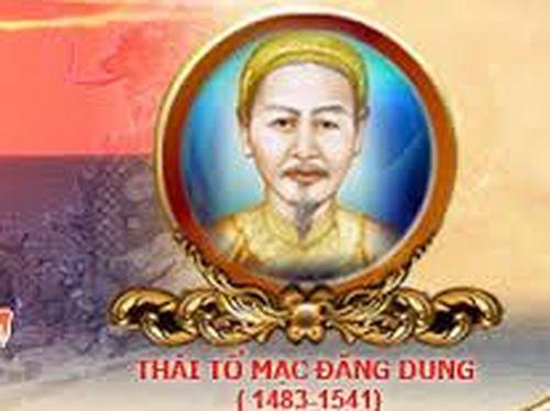 Từ một góc khuất của tiểu sử Thái tổ Mạc Đăng Dung