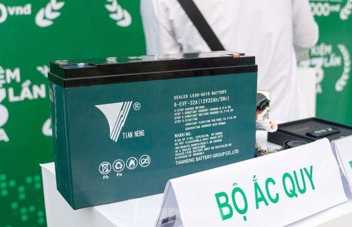 Vì sao ắc quy axit-chì vẫn được sử dụng trên xe máy điện