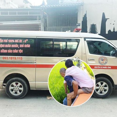 Cặp vợ chồng Giáp Tý bán nhà 'mua' những chuyến xe '0 đồng' chở bệnh nhân nghèo về quê