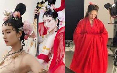 Nữ thần chuyển giới Nong Poy 'thoát xác' thành Tỳ Bà Tinh, sánh ngang hình ảnh Tiểu Long Nữ của Hương Giang
