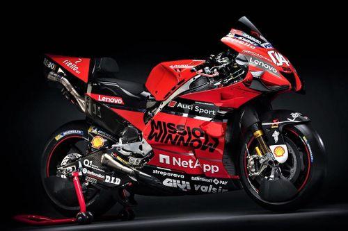 Siêu xe đua MotoGP Ducati Desmosedici GP20 ra mắt - 250 mã lực, 175 kg