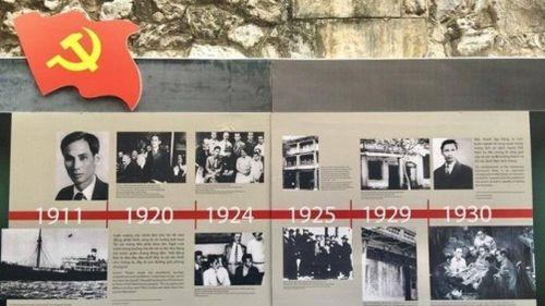 Nhiều kỷ vật về sự ra đời của Đảng được trưng bày tại di tích Nhà tù Hỏa Lò