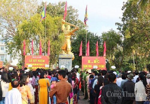Lễ hội Tây Sơn: Độc đáo Hội cầu Huê và phiên chợ Kinh - Thượng