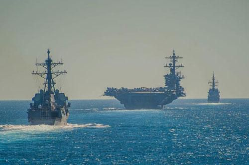 Hành quân 10 tháng không nghỉ, tàu sân bay Mỹ lập kỷ lục của thế kỷ 21