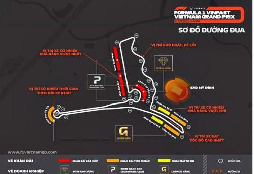 Lịch đua F1 Vietnam Grand Prix 2020