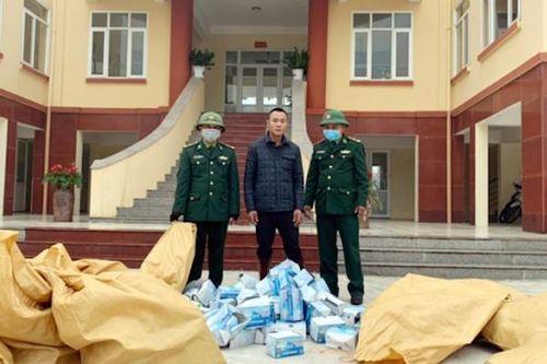 Nỗ lực ngăn chặn xuất lậu khẩu trang sang Trung Quốc