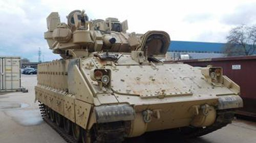 Xe quân sự Mỹ không thể lắp Iron Fist vì… thiếu điện
