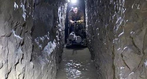 Những đường hầm ngầm 'chọc thủng' biên giới Mỹ- Mexico