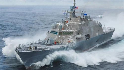 Mỹ lột xác cho tàu tuần duyên USS St. Louis