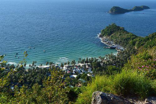Đảo Củ Tron món ngon, cảnh đẹp, dân mến khách quý trọng tấm chân tình