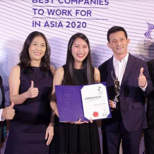 'Nơi làm việc tốt nhất châu Á 2020' gọi tên một đại diện đến từ Việt Nam