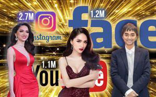Hoa hậu Chuyển giới Quốc tế Hương Giang cán mốc 'triệu follow' ở cả Facebook - Instagram - Youtube