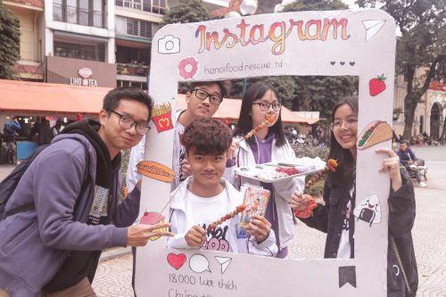 Đội giải cứu thức ăn đầu tiên ở Hà Nội