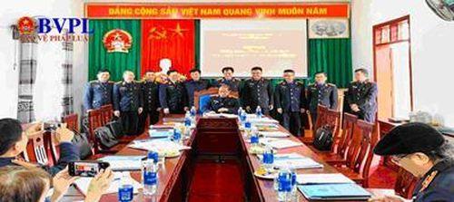VKSND huyện Tân Kỳ: Triển khai công tác và ký kết giao ước thi đua cụm 3