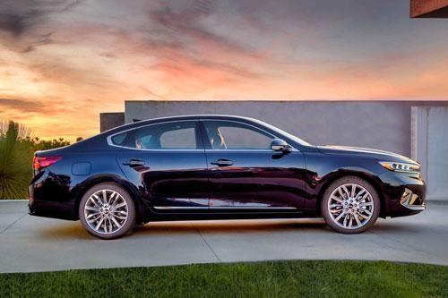 Kia Cadenza 2020: Công suất 290 mã lực, cạnh tranh Toyota Avalon, Mercedes-Benz E-Class