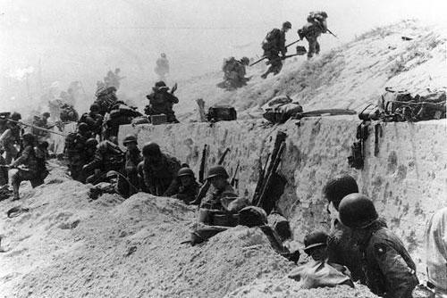 Cận cảnh địa điểm lính Mỹ đổ bộ, tấn công Hitler