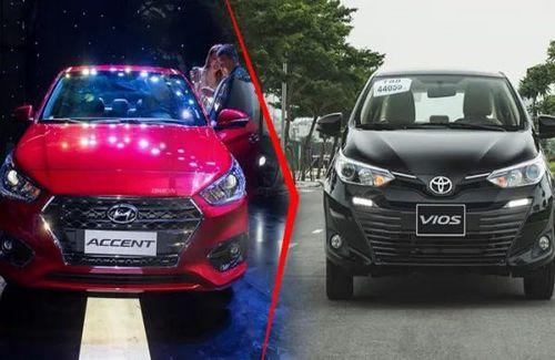 10 mẫu xe bán chạy tháng 1/2020: Hyundai Accent 'soán ngôi' Toyota Vios