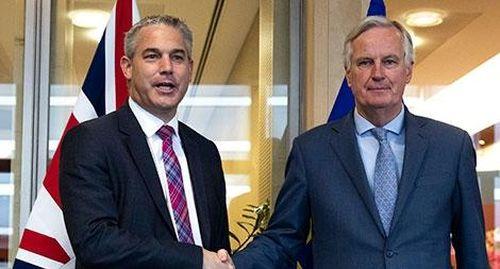 Căng thẳng thỏa thuận thương mại mới Anh - EU