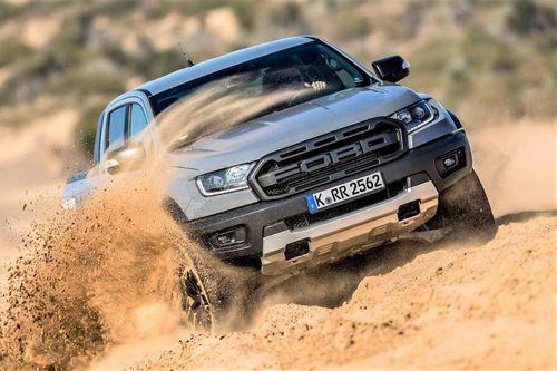 Ford Ranger Raptor V8 2021 có thể mạnh đến 709 mã lực