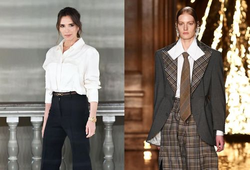 Thiết kế của Victoria Beckham và loạt đồ đẹp nhất London Fashion Week