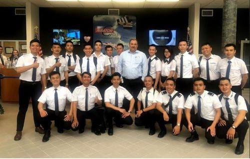 Trường đào tạo top 20 thế giới tại Mỹ của học viên phi công VinAviation