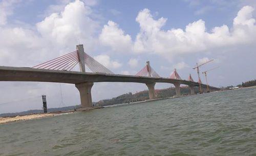 Quảng Ngãi: Trùng tên gọi, cầu 2.200 tỷ sẽ được đổi tên
