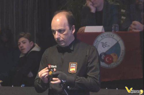 Daniel Sanchez đoạt ngôi vô địch Worldcup Antalya 2020