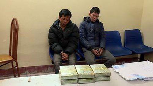 Bắt 2 đối tượng ở Sơn La, thu giữ 6 bánh heroin