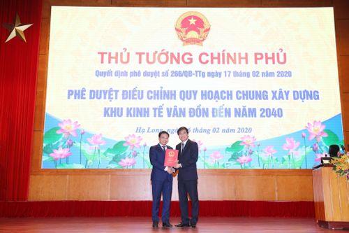 Quảng Ninh: Công bố công khai đồ án điều chỉnh quy hoạch chung xây dựng Khu kinh tế Vân Đồn