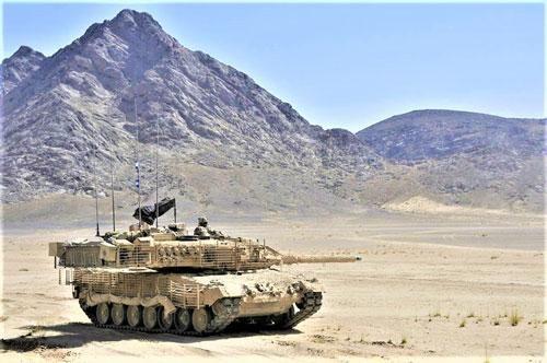 Dự án hiện đại hóa chiến tăng chủ lực Leopard 2 Đức