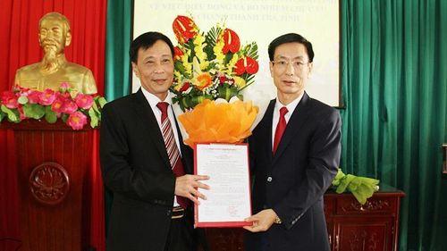 Nam Định công bố các quyết định về công tác cán bộ