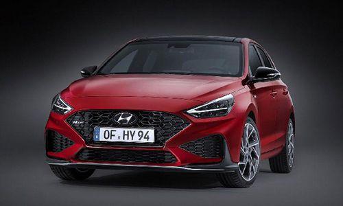 Hyundai i30 2021 phiên bản nâng cấp chinh thức 'lộ hàng'